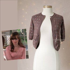Inspired By: Rory Gilmore Silk Cashmere Cardigan